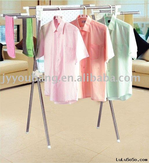 stainless steel hanger/drying rack/folding rack/clothes hanger