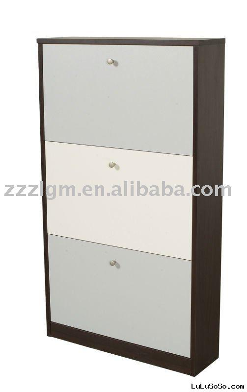 wooden shoe cabinet(shoe shelf,shoe rack )SC013