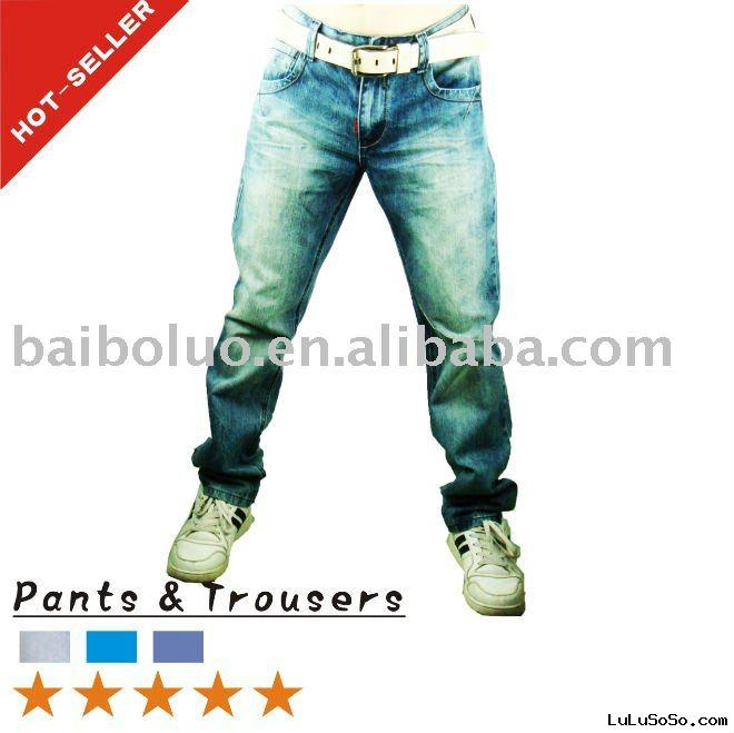 2011 New Stylish Men's Designer Jeans (BBL-N6)