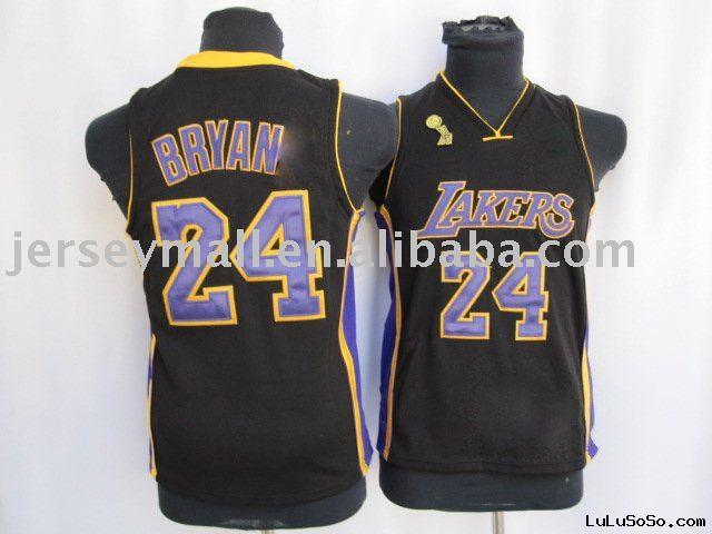 Selling hottest #24 Los Angeles Lakers kids jerseys