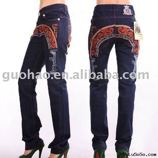 2010 ladies' fashion jeans