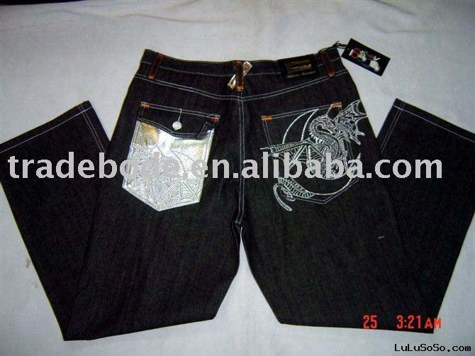 2010 new fashion brand mens denim jeans