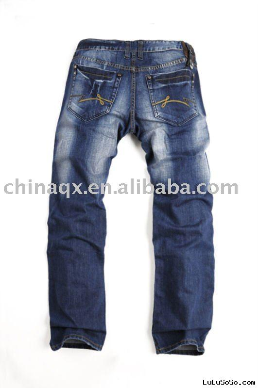 2011 classical blue fabric jeans for men1Fabric 100 cotton1012 oz2