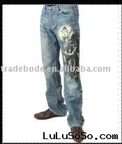 Hotest fashion mens jeans, women jeans wholesale