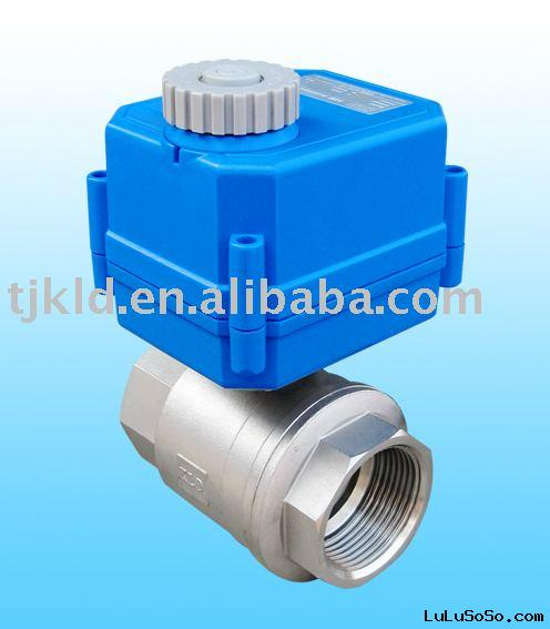 KLD100 2-way Electric ball valve for automatic control, water treatment