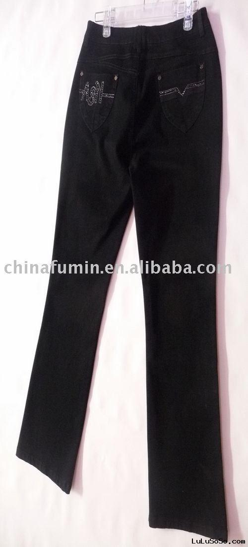 Ladies' fashion jeans pants