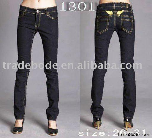 Lady new fashion jeans