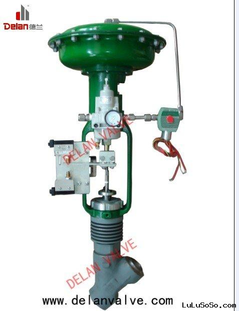 Pneumatic Operated Y Type Steam Drain Valve