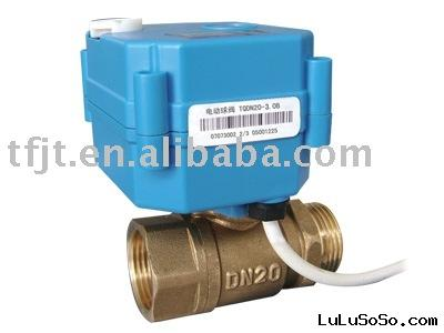 CWX-10N Mini electric ball valve for water treatment,HAVC,small automatic control equipment
