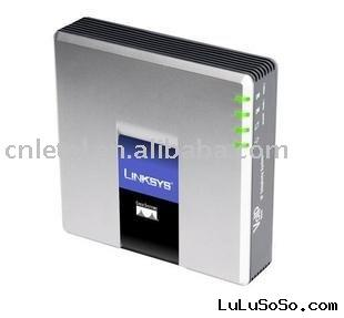 Linksys SPA3000 VoIP ATA Phone adapter FOS FXO Ethernet