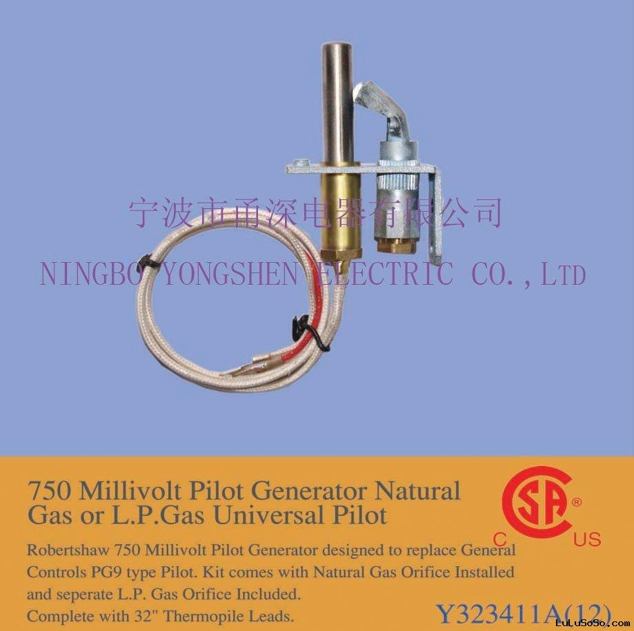 No Oxygen Included Natural Gas Generator