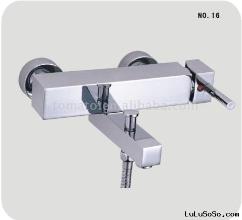Wall Mounted Single Lever Bath Shower Faucet(faucet,bathtub faucet,water mixer)