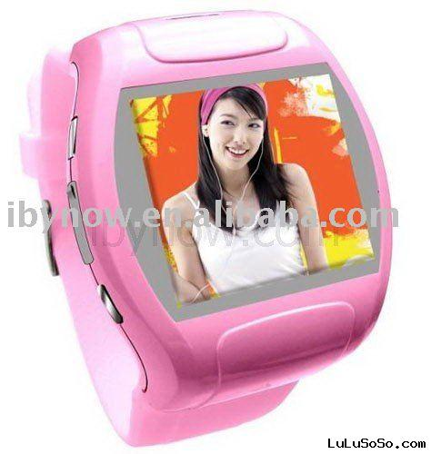 Wrist Watch Cell Phone (Mobile FM Camera Mp3 Video MQ007)