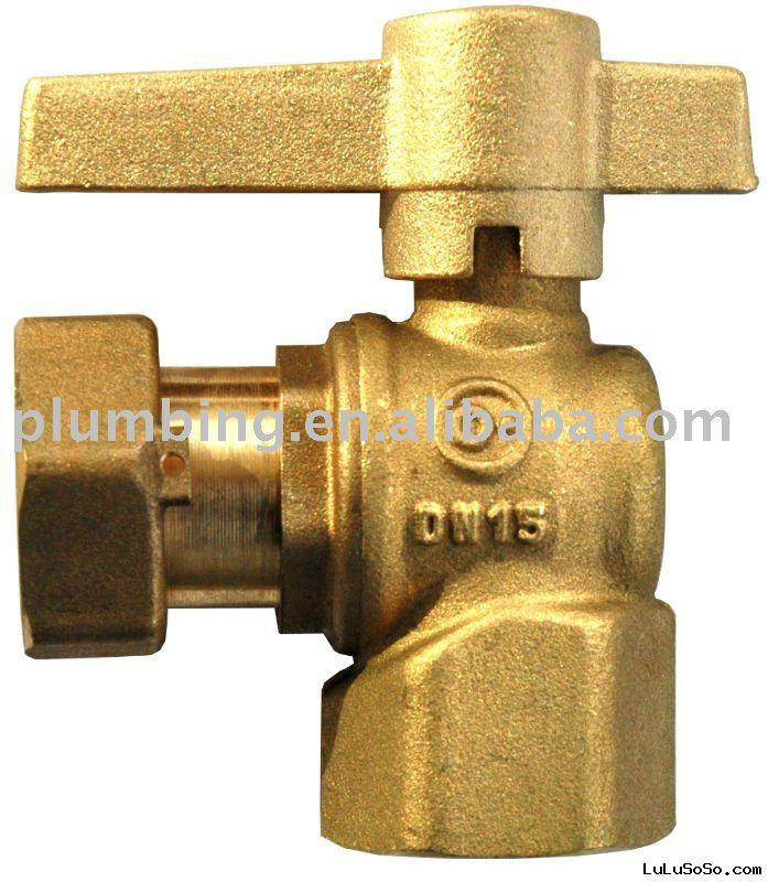 brass water meter ball valve