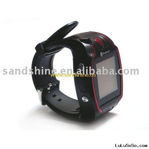cellphone watch gsm A1 Quad-band with high quality camera watch phone