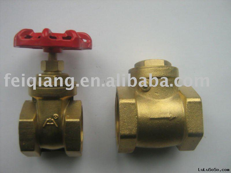 copper water stop valve