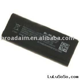 BL-8N BL8N Cell Phone Replacement Battery for Nokia 7280 & 7380