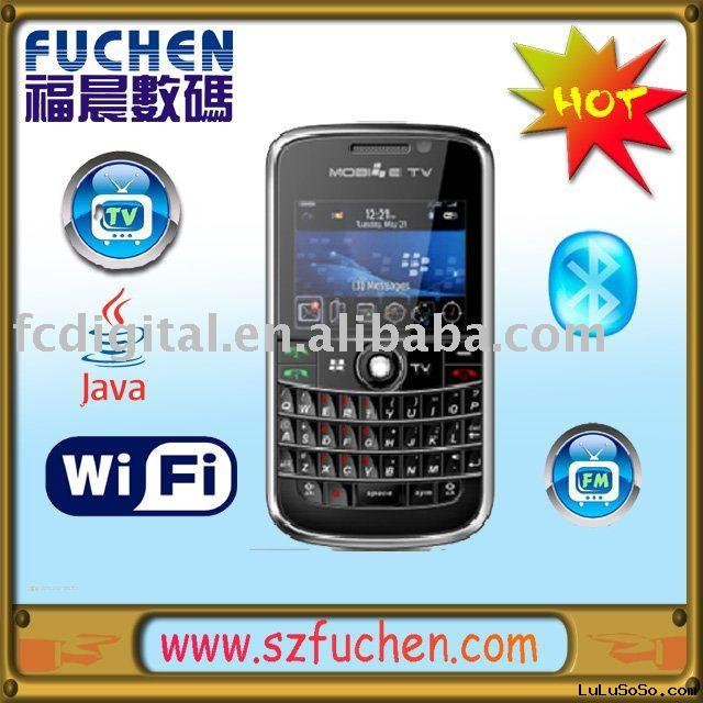FCB005: TV mobile phone,Dual SIM mobile phone, QWERTY  keyboard,WIFI phone