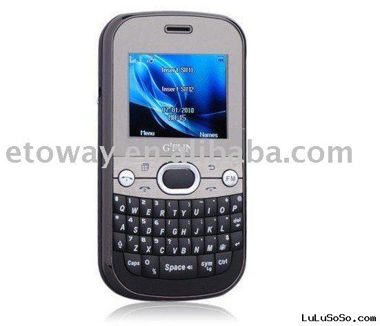 G FUN 3288 low-end mobile phone with qwerty keyboard