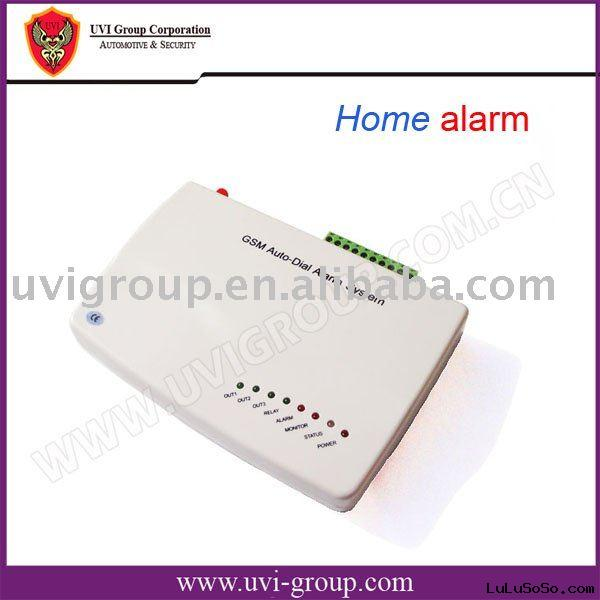 Office/home GSM Alarm System with SMS-sending and Auto-dialing