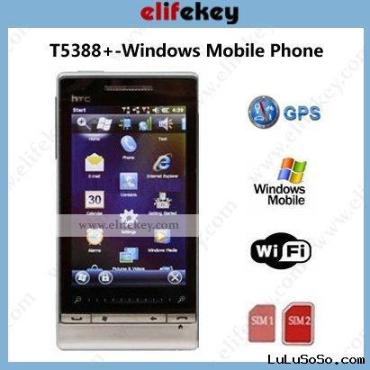 Touch Diamond2 T5388+ Dual SIM GPS Wifi windows phone 7