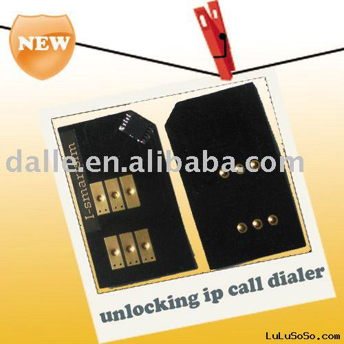 Universal unlock box & ip dialer--FREE shipping  Cell Phone Sim card