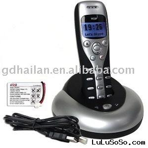 wireless USB voip skype phones/ip phone/sip phone with Caller ID function
