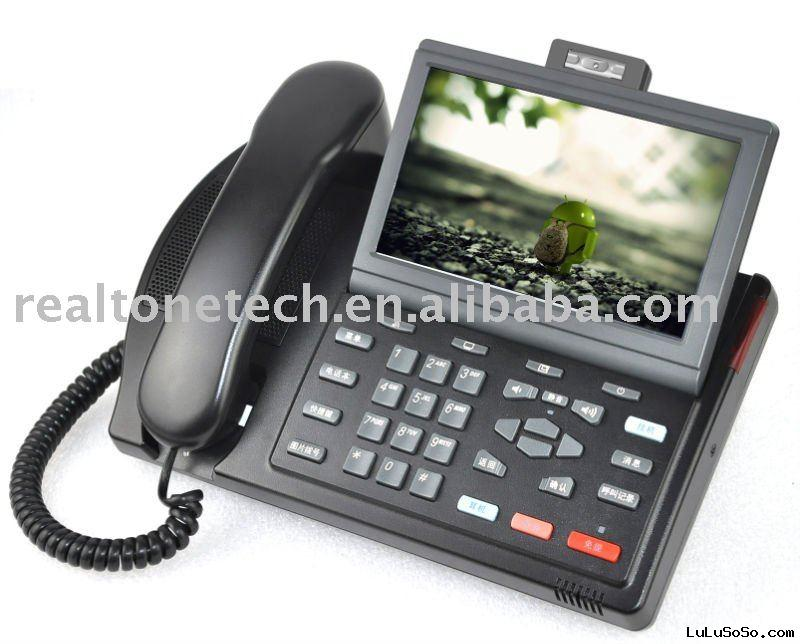 SIP IP Video phone with PSTN port