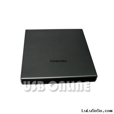 USB Slim External Rewriteable DVD +/- RW Drive, DVD Burner