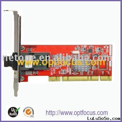 Network on Pci 100m 1000m Fiber Network Card