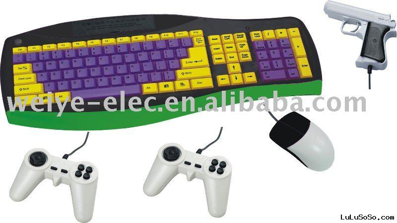 old video games keyboard