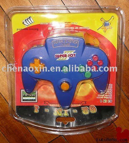 Super Joystick - TV Game- 62 Games- Plug and Play