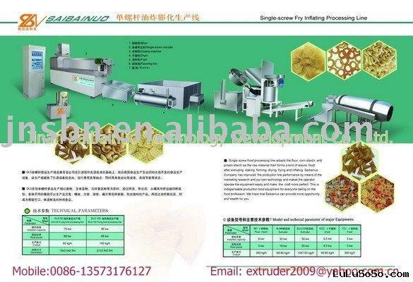 series pasta making extruder
