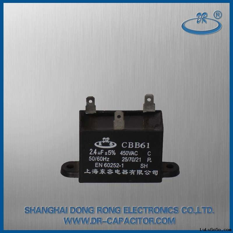 CBB61 ac capacitors for ceiling fan