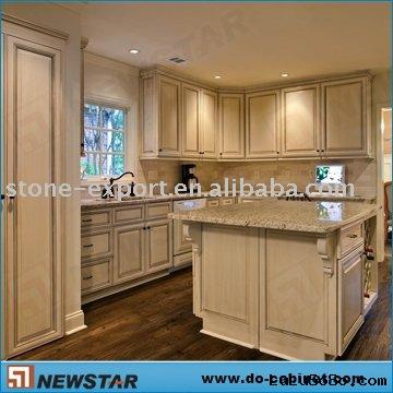Pantry Cabinet Solid Wood Kitchen Pantry Cabinet with Wood