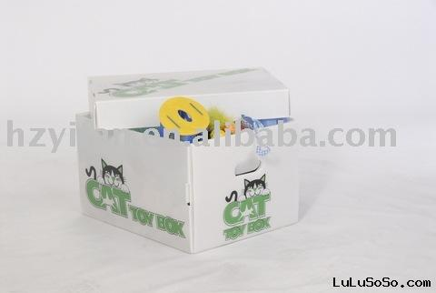 2011 new style PP hollow sheet foldable store transport Corrugated Plastic Box with lid(SY947)