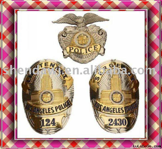 LOS ANGELES  POLICEbadge