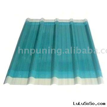 PC Corrugated Transparent Roofing Sheet