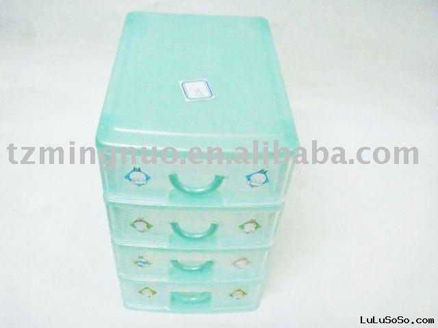 Plastic box-like container