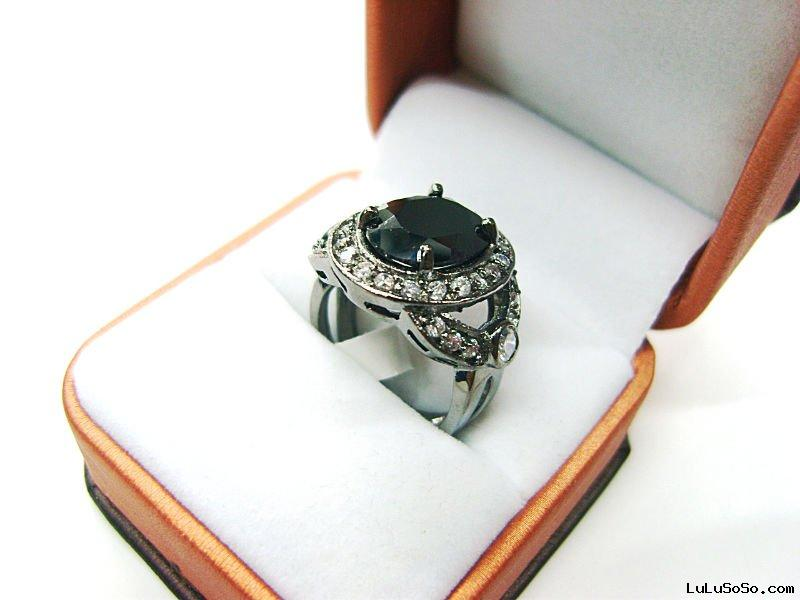 Arab style ring/platinum plating/cubic zircon ring/wedding rings