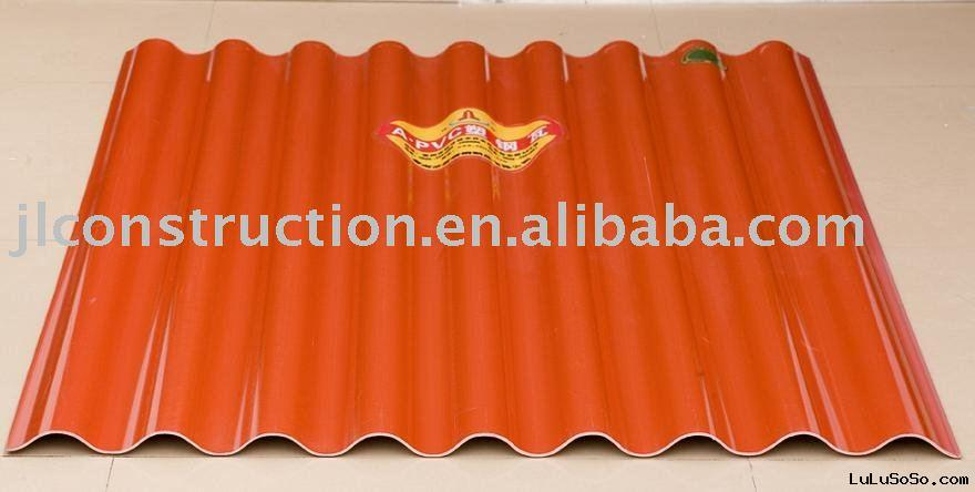 Corrugated PVC Roofing Tile