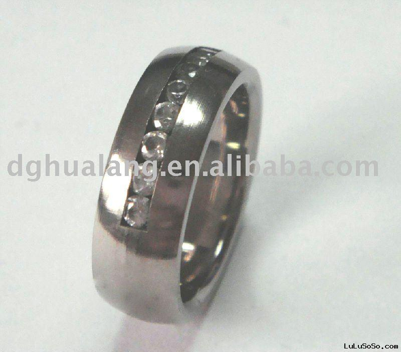 Diamond titanium wedding band 1 Product NameDiamond titanium wedding
