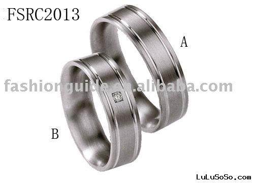 Diamond wedding ringssteel ringtungsten ringtitanium