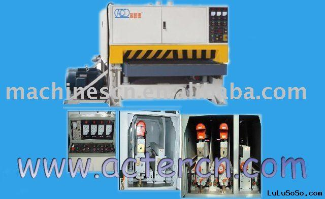 Stainless steel aluminum sheets polishing machines