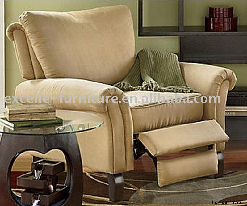 Transitional Push Back Recliner Chair