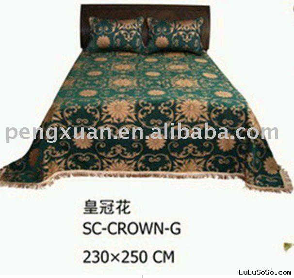 chenille bed cover/bed cover/bed sheets/bedspreads/sofa cover