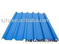 color prepainted galvanized corrugated steel roofing sheets