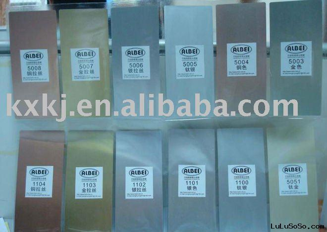 colorful  anodized aluminum sheet