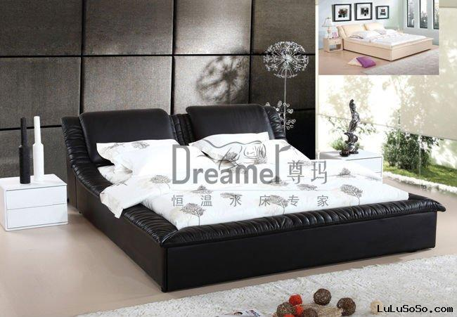 leather_water_bed_mattressjpg - Water Bed Frame