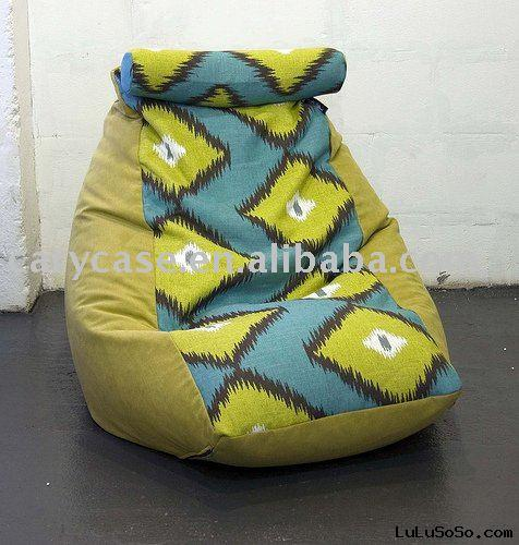 polyester bean bag sofa